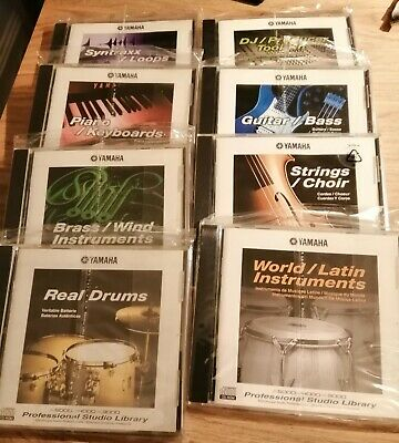 Yamaha Sampler Library CD-Rom for A3000 A4000 A5000 8 Volumes available New