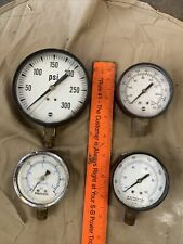 4 Vintage Gages Untested Salvage Craft Crafters Steam Punk