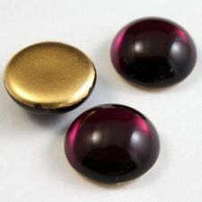 8mm x 10mm Helio Red Snakeskin Oval Cabochon #FGA039
