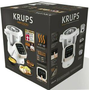 NEU ♻️ Krups HP5031 Prep & Cook 4.5l Küchenmaschine + Dampfgarer + Kochbuch