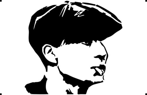 A4 A3 A5 Peaky blinders shelby  paint spray Reusuable stencil Premium mylar