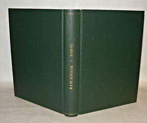Rugger-Magazines-Rugby-Union-1948-1950-19-Magazines-In-Hardback-Binding