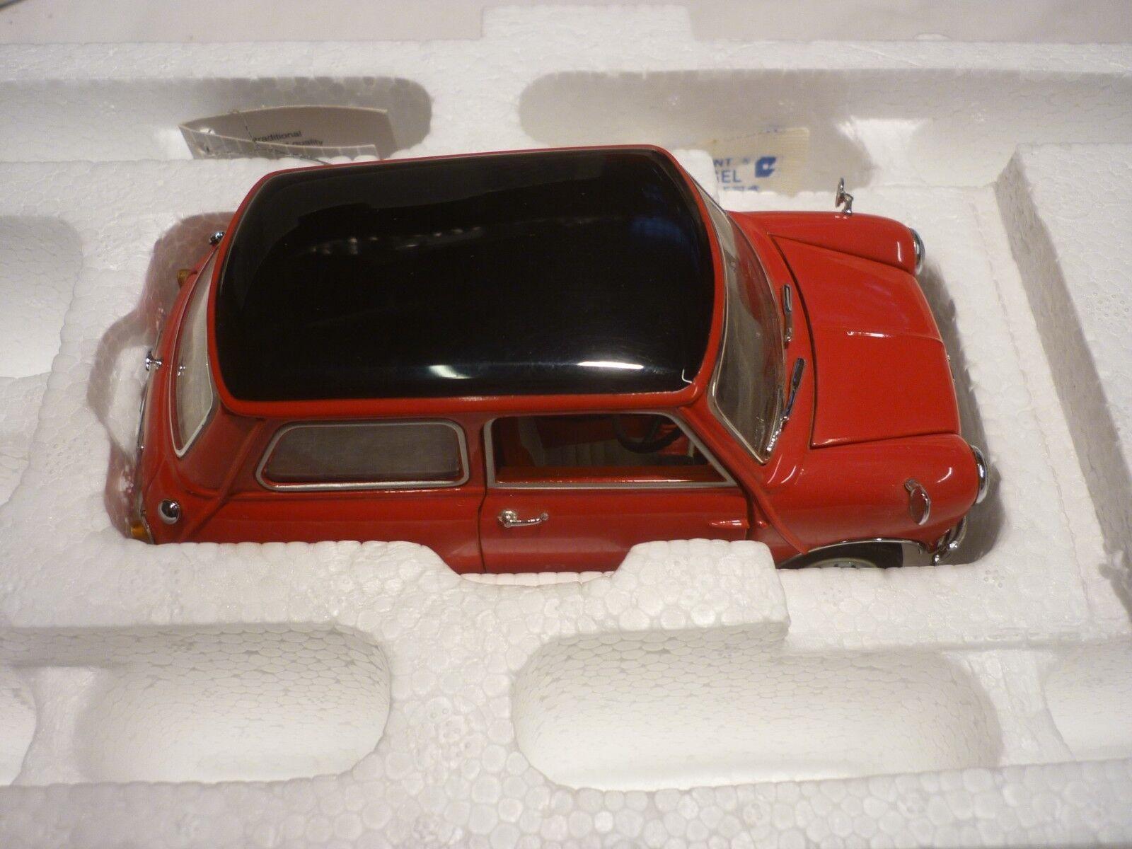 Un Franklin Comme neuf scale model voiture 1967 MORRIS MINI COOPER S, Boxed,