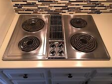 jenn air stove. jenn-air downdraft cooktop stainless steel jenn air stove