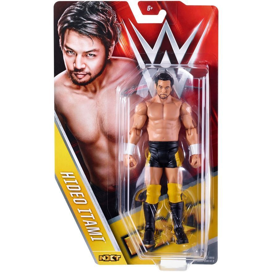 Official Mattel WWE Basic Series 56 NXT Hideo Itami Action Action Action Figure 7eb0f4