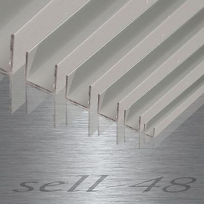 Aluminium U-profil Alu AlMgSi Aluminiumprofil U profil Alu Winkelnach Maß bis 2m