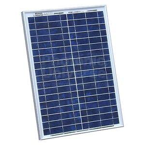 20w 12v solar panel with 2m cable for camper caravan. Black Bedroom Furniture Sets. Home Design Ideas