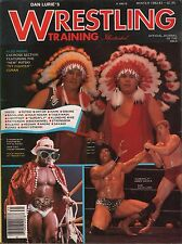 Dan Lurie's Wrestling Training Illustrated Winter 1982 - 83 Hulk VG 122815DBE