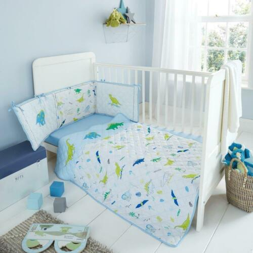 Baby Bumper Set Boys Girls Cot Bed Nursery Coverlet  Jersey Fitted Sheet Premium
