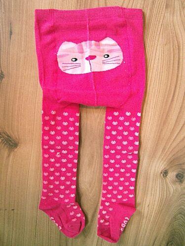 rayures 0-24 mois Enfants Bébé Filles doux chaud hiver coton collants rose