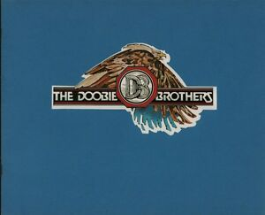 DOOBIE  BROTHERS 1978 MINUTE BY MINUTE TOUR CONCERT PROGRAM BOOK / EX 2 NMT
