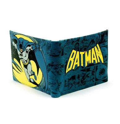 Coscienzioso Batman Wallet Portafoglio Vintage Logo Official Merchandise Essere Romanzo Nel Design
