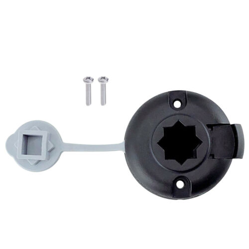 Kayak Boat Fishing Pole Holder Mount Base Accessories 2 Screws Included