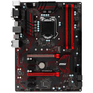 Para Juegos MSI Z270 Plus Motherboard DDR4 LGA1151 Vga Dvi Atx