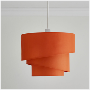 Image Is Loading Orange Retro Design Lighting Ceiling Lamp Shades Vintage