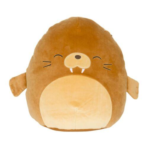 "Kellytoy Squishmallow 16/"" Bruce the Walrus Soft Plush Animal Toy Pet Pillow"