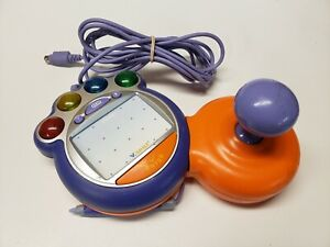 Vtech-V-Smile-Joystick-Orange-Controller-VSmile-TV-Learning-System-Model-9100