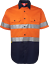 HI-VIS-SHIRT-SAFETY-COTTON-DRILL-WORK-WEAR-SHORT-SLEEVE-Air-Vents-UPF-50 thumbnail 24