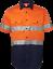 HI-VIS-SHIRT-SAFETY-COTTON-DRILL-WORK-WEAR-SHORT-SLEEVE-Air-Vents-UPF-50 thumbnail 24