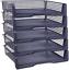 Stackable Office Desktop Do Plastic Desk Letter Organizer Trays Zilpoo 5 Tier