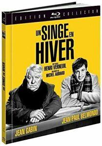 Blu Ray : Un singe en hiver - Gabin / Belmondo - Ed Digibook - NEUF