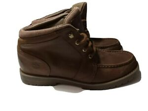 Timberland Casual Chukka Men's Brown Leather Lace Up Boots Size 11M (90567)