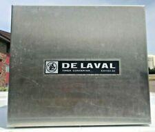 Vintage Delaval Milker Stainless Wall Mount Pulsation Timer Converter Box
