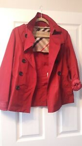 Rouge Xs Burberry Coat Mac Brit Trench qqS4H