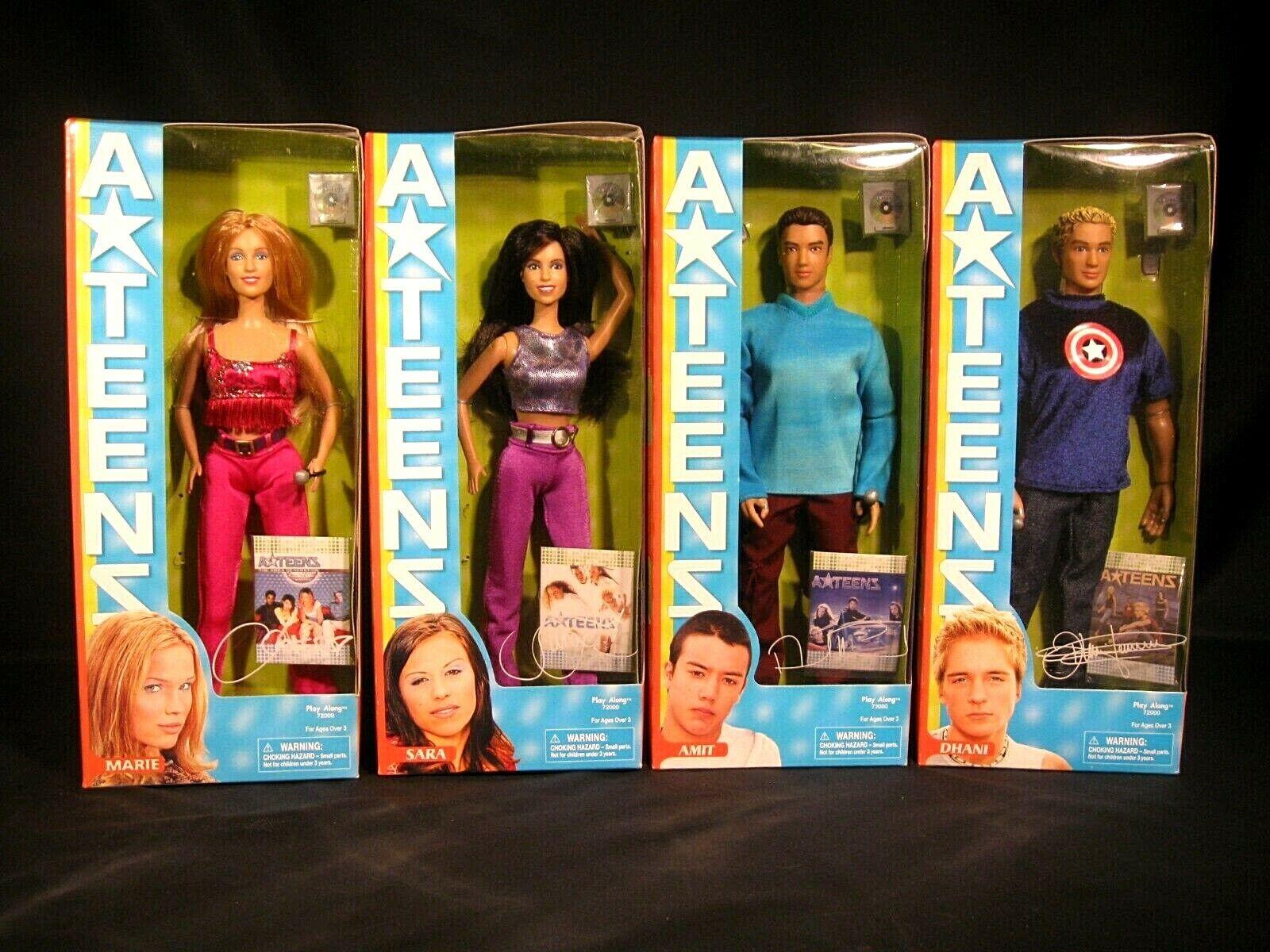 ATeens Dolls Complete Set Marie Sara Amit Dhani Set of 4