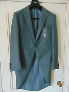 M-amp-S-GREY-MORNING-SUIT-JACKET-TAILORED-FORMAL-OCCASION-SIZE-36-034-BNWT