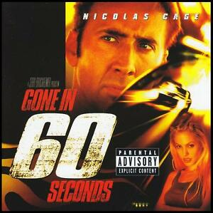 GONE-IN-60-SECONDS-SOUNDTRACK-CD-NICHOLAS-CAGE-ANGELINA-JOLIE-SIXTY-NEW