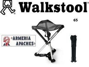 Sgabello WALKSTOOL confort 65 richiudibile portatile