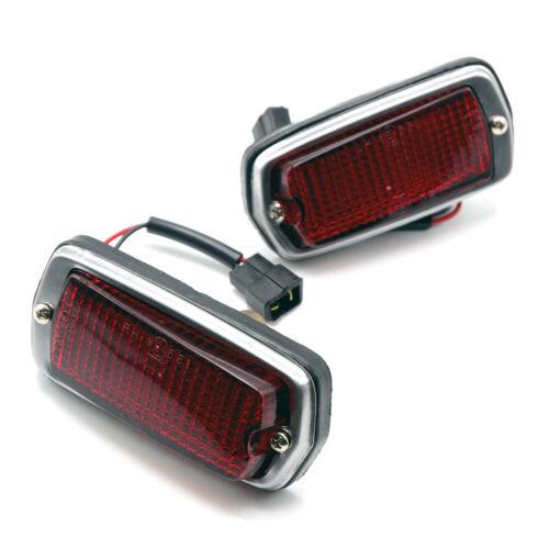 Fits Datsun 510 120Y 280Z 240Z 260Z S30 B210 68 1973 Market Light Lamps Pair Red
