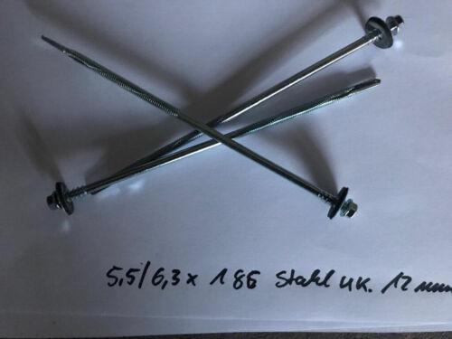 Stahl-UK 12 mm ISO Paneele verschiedene Varianten Sandwichplatten Schrauben f