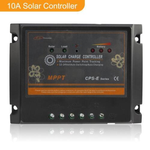 10//20A CPS optique Traceur Maximum Power Point Suivi de Panneau Solaire Charge Controller Regulator 12//24V Ga