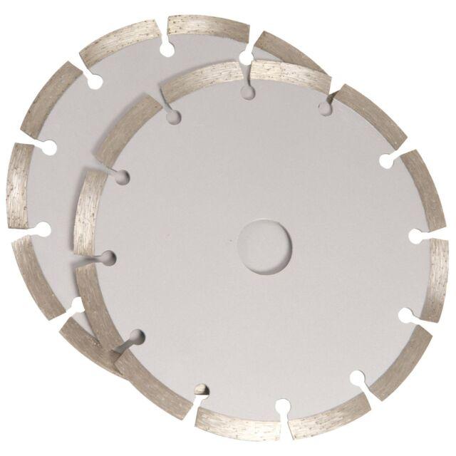 Ferm Segmented Diamond Cutting Disc Blade Masonry 125 x 22.2 x 2.0 WSA1001