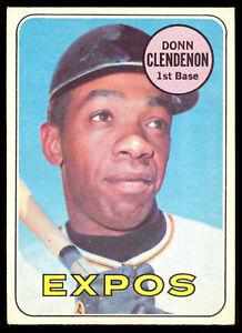 1969 Topps Opc O Pee Chee Baseball 208 Donn Clendenon Ex Nm