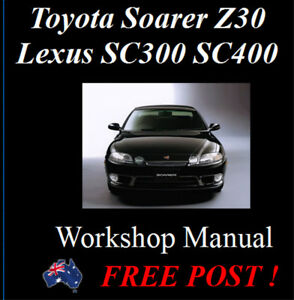 lexus shop manual download