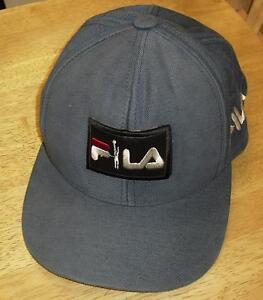 35cc223d Fila hat leather logo Shoes Vintage 90's STRAPBACK hat cap Rare ...