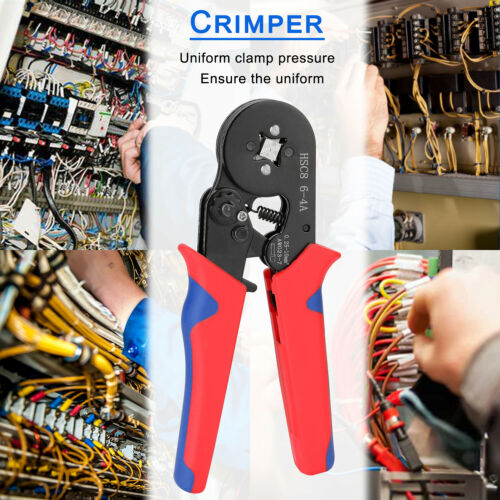 Crimper Plier Self-adjustable Crimping Tool Wire Stripper Cable Stripping X3K4