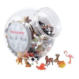 Bullyland-Micro-Tiere-Sammel-Figur-3-cm-Tierfigur-Kuh-Loewe-Tiger-Elefant-usw