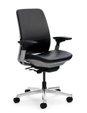Steelcase Chair Amia Fully Loaded Original Leather Seating