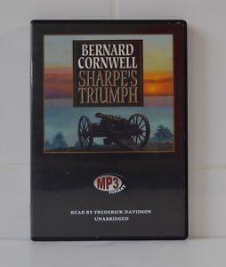 Sharpe-039-s-Triumph-by-Bernard-Cornwell-MP3CD-Audiobook