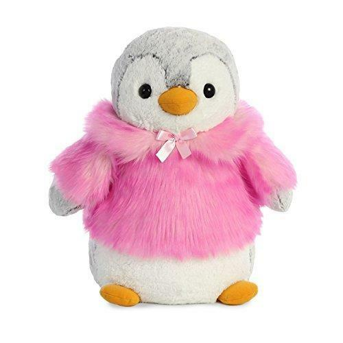 Pom Pom Penguin 41cm Collectible Toy- Winter Christmas Gift Stuffed Plush Animal