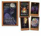 The Raven's Prophecy Tarot by Maggie Stiefvater (2015, Cards,Flash Cards)