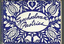 CZECH COOKBOOK - CZECHOSLOVAK PASTRIES - CHARLOTTE G. MASARYK SOCIETY - 1952