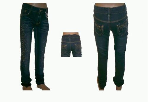 134-164nk41 Fille Jeans Enfants Jeans pantalon mädchejeans Enfants Jeans NEUF t