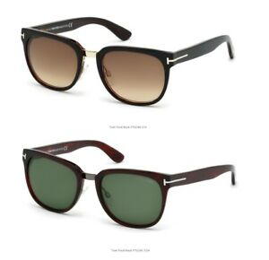 c1c77516df Image is loading Tom-Ford-Authentic-Sunglasses-Unisex-Rock-FT0290-01F-