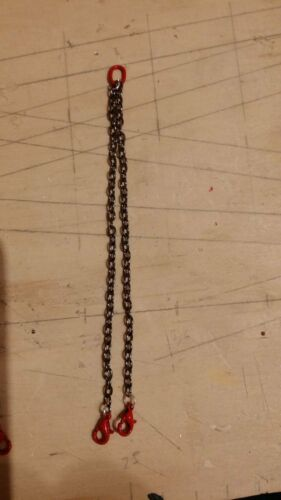 hebebänder 24cm 2er 16cm cadenas 2 Vehículos pesados set 1:50//1:32 modellbau