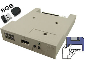 Amiga-USB-Floppy-Disk-Emulator-GOTEK-beige-w-8GB-USB-key